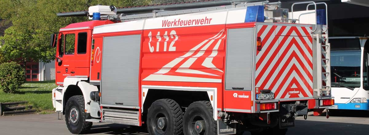 Tanklöschfahrzeug der Werkfeuerwehr Rinteln